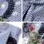 งานเซตเสื้อ+กางเกง เสื้อทรงแขนกุดลายริ้วเพิ่มงานปักตัวแพง thumbnail 6