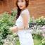 ชุดเดรสเกาหลี พร้อมส่งเดรสลุคหรูหราแบบสาวหวาน เนื้อผ้า polyester thumbnail 6