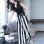 Stripe Lace Jumpsuit thumbnail 2
