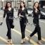 Luxury Jumpsuit Lace Fashion Style Korea thumbnail 6