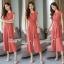 Stylish sleeveless feminine jumpsuit thumbnail 2