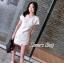 SET 2 ชิ้น : เสื้อ+กางเกง สีขาวสไตล์ เรียบหรู thumbnail 7