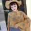 เสื้อชีฟองคอวี มีสายผูกเป็นโบว์เล็กๆ thumbnail 2