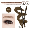 The Choute by Witch's Pouch Waterproof Soft Gel Eyebrow 0.5g #01 Dark Brown
