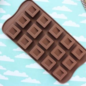 พิมพ์ขนม สี่เหลี่ยมทำช็อคโกแลต B410