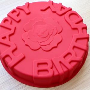 พิมพ์ขนม วันเกิดมีดอกกุหลาบ B380