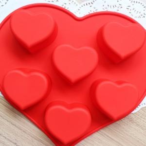 พิมพ์ขนม หัวใจ B334