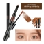 Witch's Pouch Get it Easy Dual Brow Pencilcara #01 Rich Brown thumbnail 1