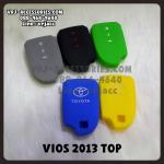 ซิลิโคน รีโมท ปลอกหุ้มกุญแจ สำหรับ โตโยต้า วีออส 2013 ตัวทอป : Silicone key cover for cars – TOYOTA VIOS 2013 TOP