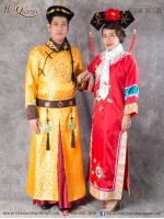 เช่าแฟนซี จีน &#x2665 ชุดแฟนซี ชุดคู่ ฮ่องเต้สีเหลืองทอง และเจ้าหญิงกำมะลอ (ชุดซูสีไทเฮา)