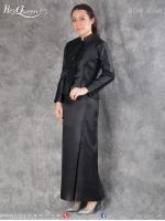 เช่าชุดไทย &#x2665 ชุดไทยจิตรลดา สีดำ