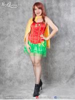 เช่าชุดแฟนซี &#x2665 ชุดแฟนซี superhero โรบิน Robin คู่หูแบทแมน กระโปรงรูดระบาย