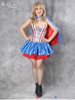 เช่าชุดแฟนซี &#x2665 ชุดแฟนซี superhero วันเดอร์วูแมน Wonderwoman กระโปรงฟู