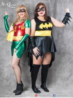 เช่าชุดแฟนซี (มีไซส์ใหญ่ถึงอก 45 นิ้ว) &#x2665 ชุดแฟนซี ซุปเปอร์ฮีโร่ Superhero คู่หูแบทแมนโรบิน