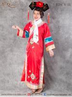 เช่าชุดแฟนซี &#x2665 ชุดแฟนซี ชุดเจ้าหญิงกำมะลอ (ซูสีไทเฮา) - สีแดง