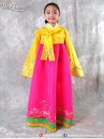 เช่าชุดแฟนซี &#x2665 ชุดแฟนซีเด็ก ชุดประจำชาติเกาหลี ชุดฮันบก สีต่างๆ สำเนา