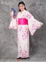 เช่าชุดแฟนซี &#x2665 ชุดญี่ปุ่น กิโมโน สีชมพู