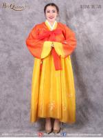 เช่าชุดแฟนซี &#x2665 ชุดแฟนซี ชุดประจำชาติเกาหลี ชุดฮันบก สีต่างๆ