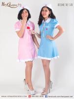 เช่าชุดแฟนซี &#x2665 ชุดแฟนซี พยาบาล เมด ใส่ได้ 2 แบบ