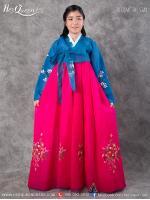 เช่าชุดแฟนซี &#x2665 ชุดประจำชาติเกาหลี ชุดฮันบก ผู้หญิง