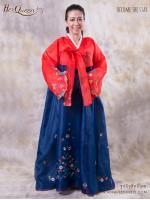 เช่าชุดแฟนซี &#x2665 ชุดแฟนซี ชุดประจำชาติเกาหลี ชุดฮันบก