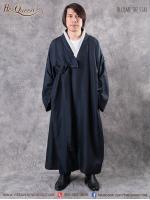 เช่าชุดแฟนซี &#x2665 ชุดแฟนซี ชุดฮันบก ชุดประจำชาติเกาหลี ผู้ชาย - สีน้ำเงิน