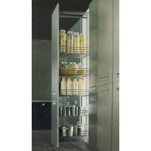 ชุดตะแกรงตู้สูง 5 ชั้น หน้าบานกว้าง 500 มม. รุ่น HG-201014