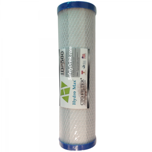Block Carbon Hydromax 10 ID 500 (ฝาฟ้า)