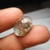 แก้วปวกสุวรรณสาม +กาบทอง สวยงาม ขนาด 1.9*1.4 cm