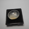 แก้วพิรุณแสนห่า เส้นพริ้วสวยงาม น้ำงาม ขนาด 2x 1.5cm ทำหัวแหวน งามๆ