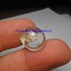 แก้วเข้าแก้วลอย รัศมีในประกายรุ้ง ขนาด 1.7*1.4 cm ทำหัวแหวน