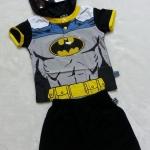 Batman : Set เสื้อ+กางเกง Batman มีไฟที่หน้าอก