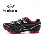 รองเท้าจักรยานเสือภูเขา TIEBAO รุ่น TB15-B1235 สีดำแดง