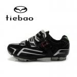 รองเท้าจักรยานเสือภูเขา TIEBAO รุ่น TB15-B1268 สีดำ ตัวรัดออโต้