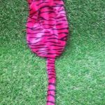 ถุงนอน เฟอร์บี้ มีหาง สีสีชมพูลายเสือ
