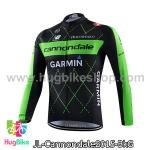 เสื้อจักรยานแขนยาวทีม Cannondale 15 สีดำเขียว สั่งจอง (Pre-order)