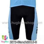 กางเกงจักรยานขาสั้นทีม Bianchi 15 สีดำฟ้า สั่งจอง (Pre-order)