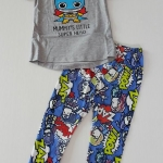 เซ็ท เสื้อ กางเกง ใส่เล่น mummy 's little super hero
