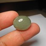 แก้วทรายเขียว ทรายสวย เขียวชอุ่ม2.2x 1.8mm