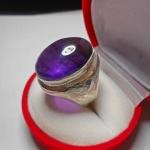 แหวนแก้วนางขวัญ เม็ดโตแก้วน้ำงาม แก้วแห่งเมตตามหานิยมและสงเสริมสมาธิ