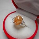 แหวน แก้วไหมนาค เส้นสวย น้ำงาม แก้วแห่งโชคลาภ