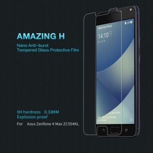 ฟิล์มกระจกนิรภัย Zenfone 4 Max Pro (ZC554KL)
