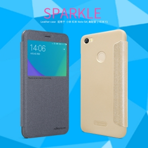 เคสมือถือ Xiaomi Redmi Note 5A Prime รุ่น Sparkle Leather Case