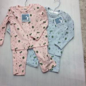 ชุดนอน สินค้าส่งออกราคาส่ง 120 ต่อชุด size 12-18-24 เดือน ขายส่งยกแพ็ค6 ชุด