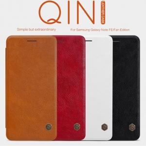 เคสมือถือ Samsung Galaxy Note FE (Fan Edition) รุ่น Qin Leather Case