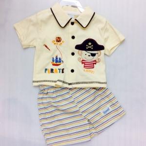 ชุดเชิดเด็กชาย แบรน นาเน็ตสินค้าส่งออก size 3/6 6/9 ขายส่งยกแพ็ค6ชุดราคา ุ630 บาทตกชุดละ 105 บาทเท่านั้น