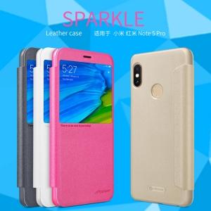เคสมือถือ Xiaomi Redmi Note 5 / Xiaomi Redmi Note 5 Pro รุ่น Sparkle Leather Case