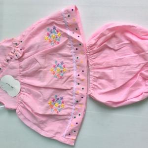 ชุดเสื้อกางเกงเด็กเล็กขายส่ง ราคาเดียว 100 ต่อชุด แพ็ค ละ 600 บาท size 3-6-9 เดือน