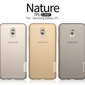 เคสมือถือ Samsung Galaxy J7+ (J7 Plus) รุ่น Nature TPU Case