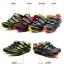 รองเท้าจักรยานเสือหมอบ TIEBAO รุ่น TB36-B816A สีแดงดำ thumbnail 5